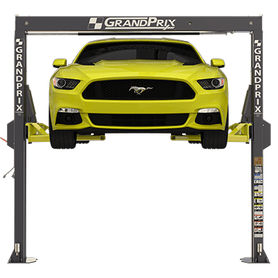 GrandPrix GP-7LC Low-Ceiling Two-Post Lift by BendPak