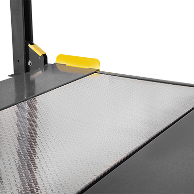 Solid Aluminium Deck Platform for 4-Post Lifts by BendPak