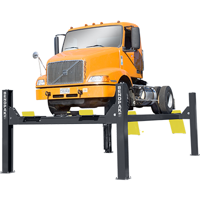 HD-40X 18,144-kg. Capacity / Four-Post Lift / Extended