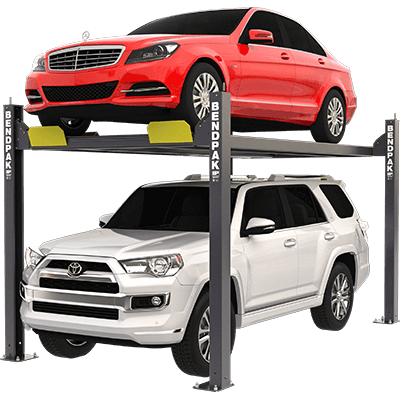 HD-7P 3,175-kg. Capacity / Narrow Car Lift / High Rise