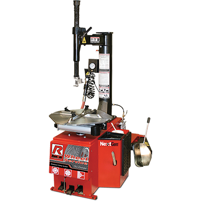 R980XR Tire Changer / Swing Arm / 762 mm Capacity