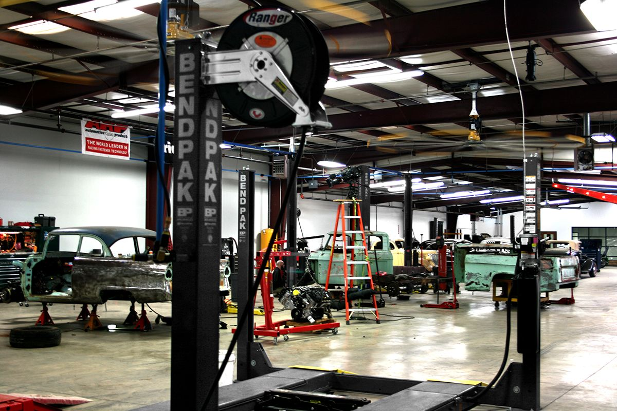 BendPak Car lifts Gas Monkey Garage