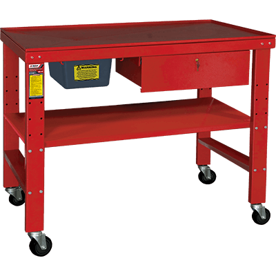RWB-1TD Heavy-Duty Teardown Work Bench w/ Fluid Catch