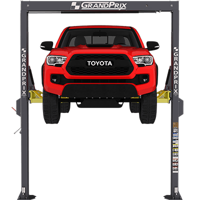 GP-7 GrandPrix Series 2-Post Lift / 3,075-kg. Capacity / 3,810 mm Overall Height